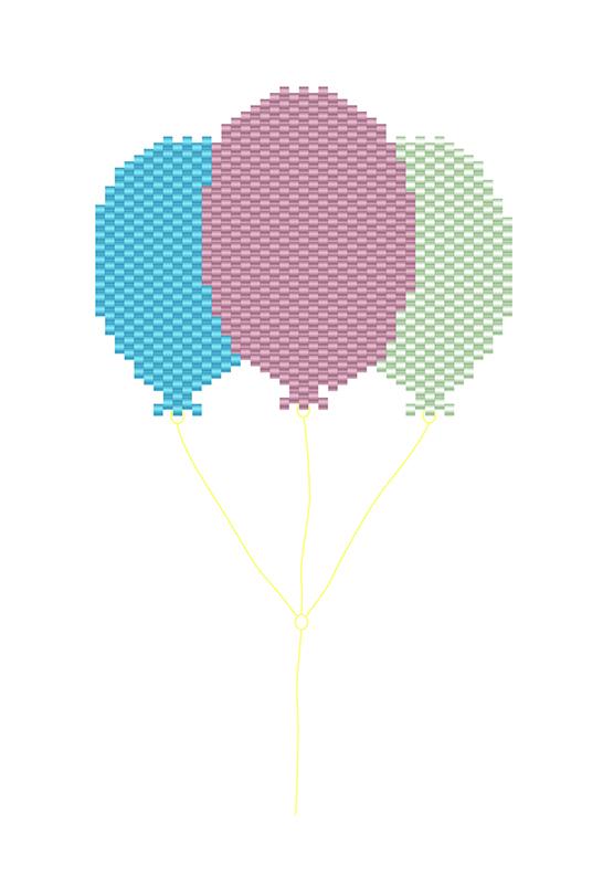 ballon broche